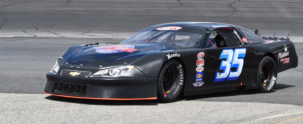 Derek Ramstrom Ramstrom Racing Pass Super Late Model